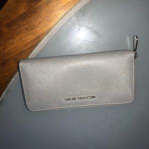 michael kors Bags - Michael kors grey wallet